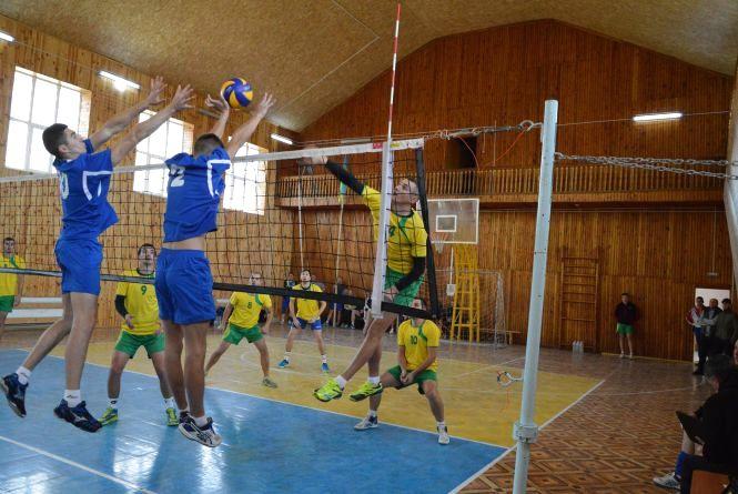 Змагалися волейболісти