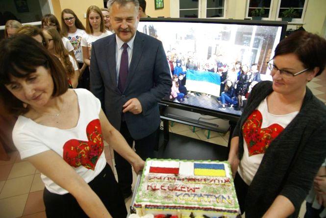 Поляки їли торт з Козятином!