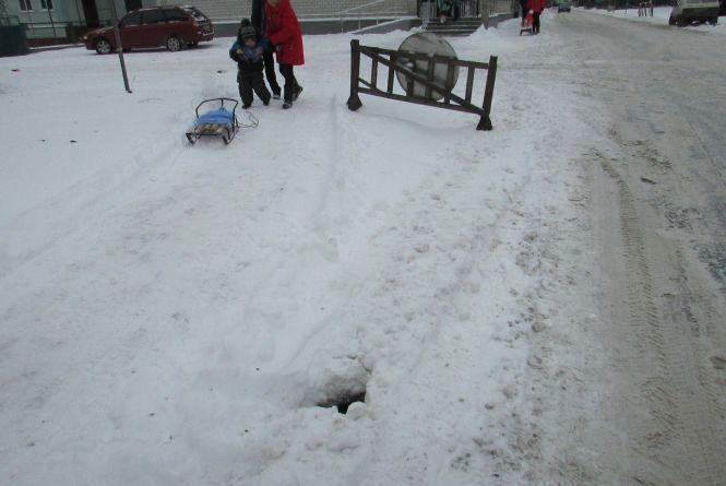 Як у Козятині боролися зі сніговими заметами