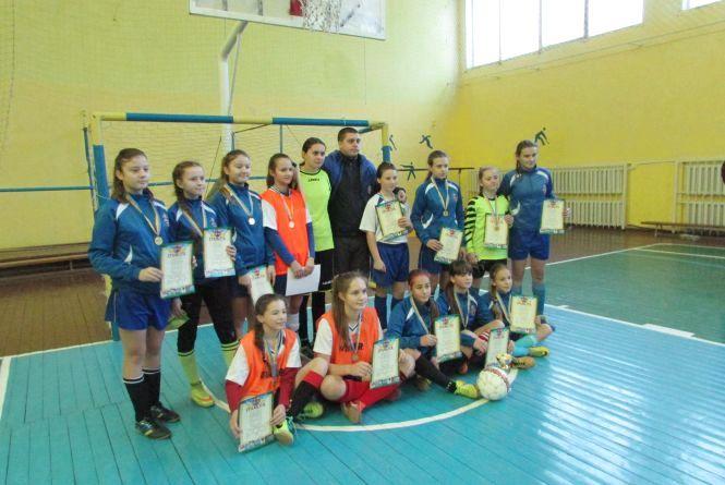 Міні футбол серед дівчат