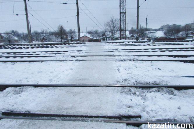 Сніг на Південно-західній залізниці