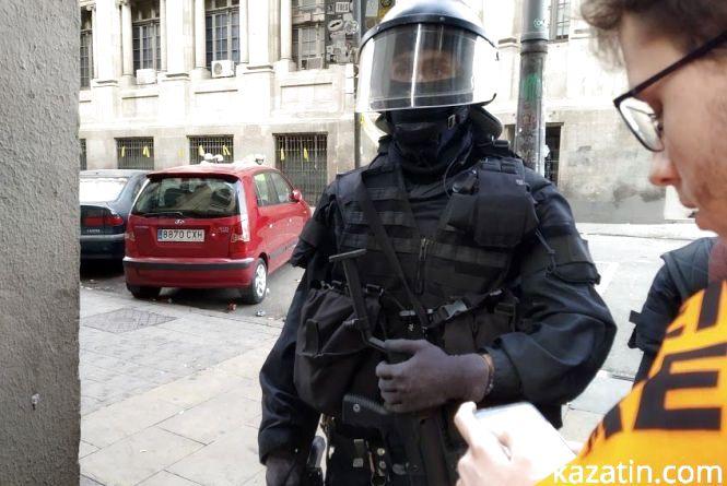 Барселона . Протистояння  з поліцією.  Репортаж  Влада Лісового