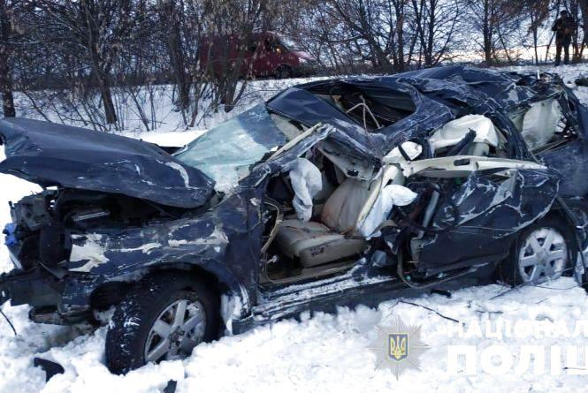 Потрійна аварія на об'їзній: загинув один із водіїв