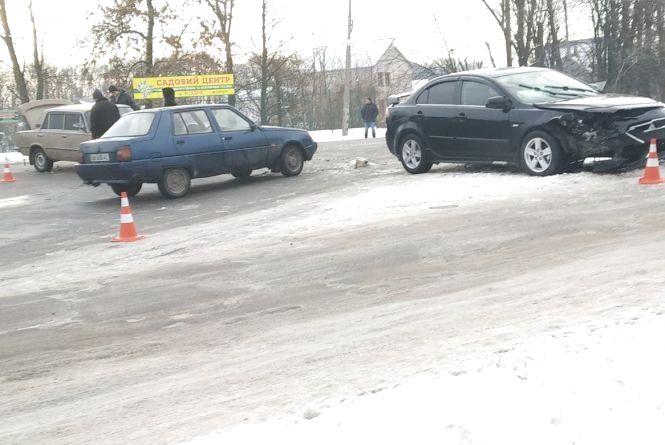 Аварія на перехресті Білоцерківської та 8 Гвардійської