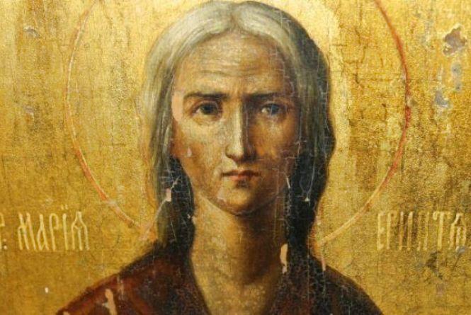 14 квітня  вшановується християнська свята Марія Єгипетська.
