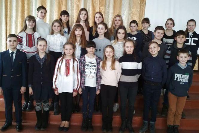 Шевченківські дні у Козятині — конкурс читців у школі №2