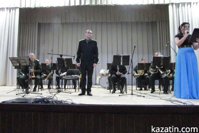 Вперше в Козятині оркестр Нацгвардії України