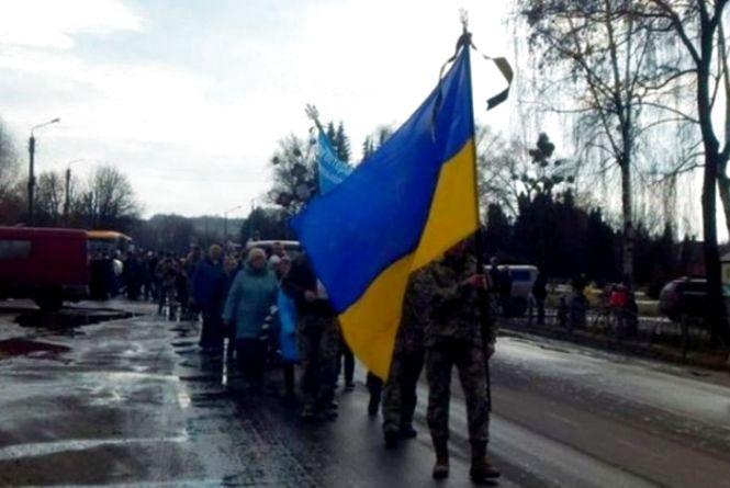 На Вінничині попрощались із загиблим військовим