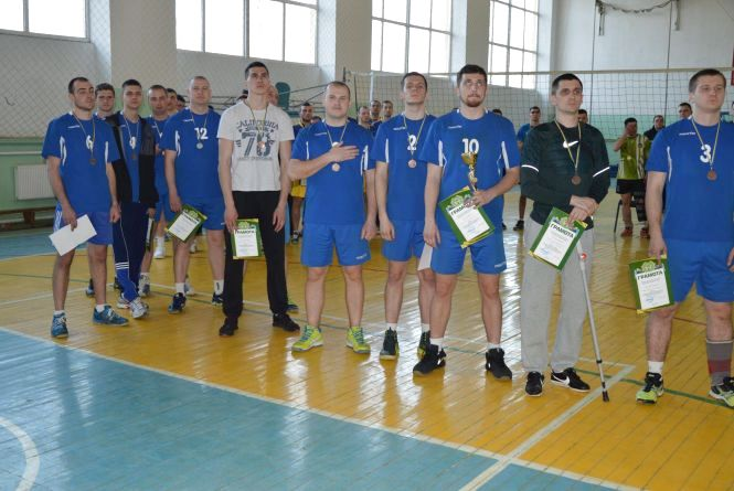 Козятинські волейболісти увійшли у трійку лідерів