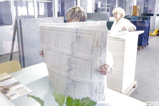 Бюлетені на вибори мають 10 ступенів захисту (Прес-служба ПРЯМИЙ)