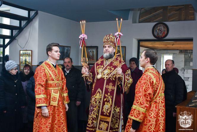 На 40 святих у храмі Серафима Саровського митрополит Симеон звершив Літургію Ранішосвячених Дарів  (ФОТО, ВІДЕО)