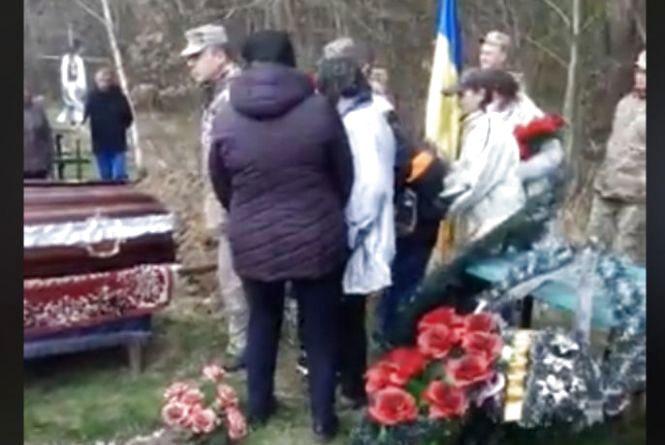 Жалоба:  у Козятині попрощались з старшим розвідником Віктором Розбіцьким