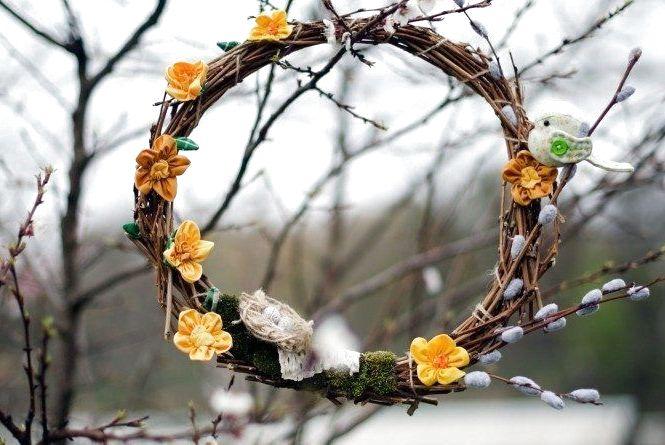 Про погоду: Вербна неділя — прохолодна та вітряна.  А Великдень — сонячний і теплий