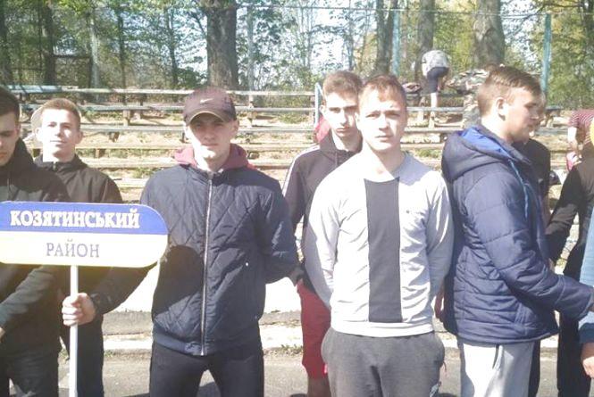Перемога: на обласній Спартакіаді серед допризовної молоді Вінниччини наш район став першим