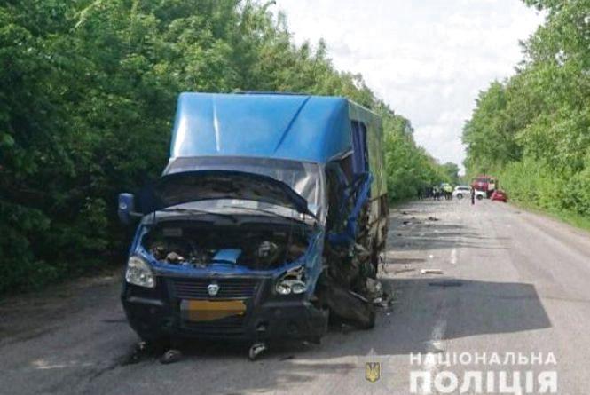 Смертельна ДТП під Козятином: зіткнулися іномарка та рейсовий автобус