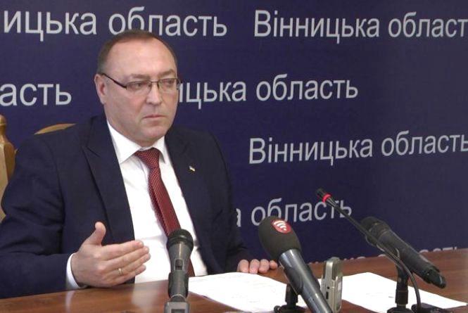 Голова ОДА Валерій Коровій написав заяву про складання повноважень