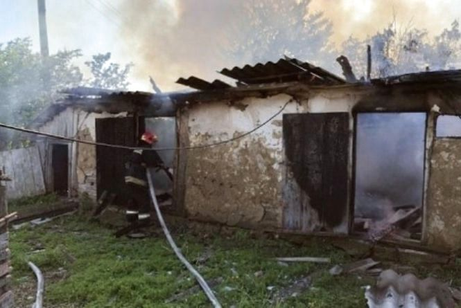 Пожежа в Титусівці: згорів сарай. Де ще горіло на Вінниччині?