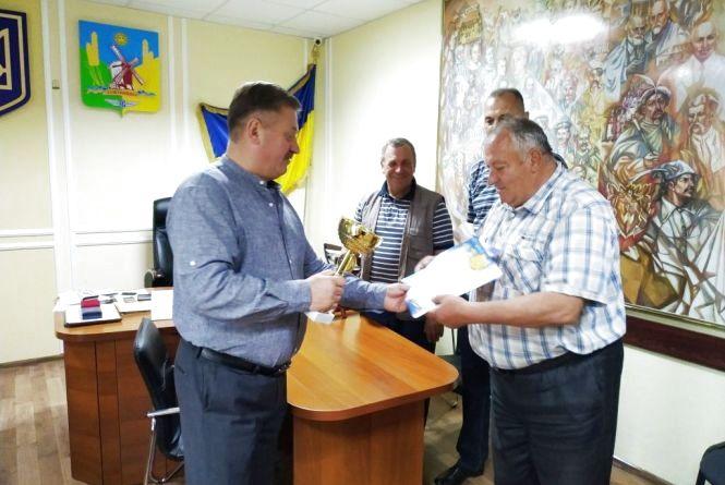Команда районного територіального центру – переможці обласного спортивного фестивалю «Літня сеньйоріада»