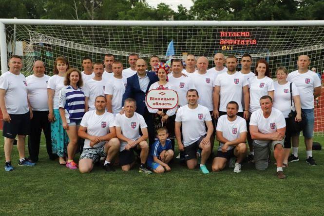 Команда народних обранців області стали бронзовими призерами