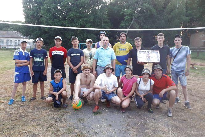 На День села у Кашперівці змагалися у спорті