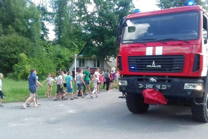 У Йосипівці в дитячому таборі «Пролісок» гасили пожежу?