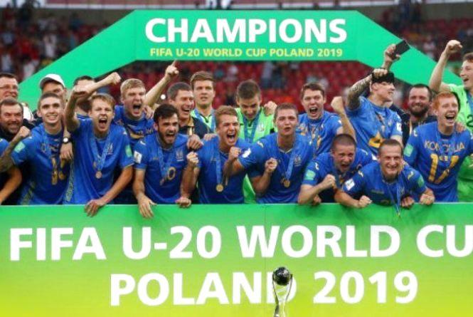 Україна виграла молодіжний чемпіонат світу з футболу-2019