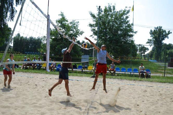 У Козятині змагались з пляжного волейболу