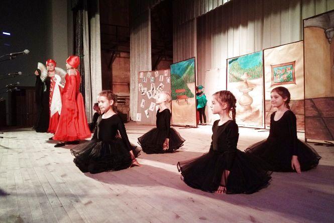 Театральна студія «Погляд» презентувала виставу «Цибуліно»