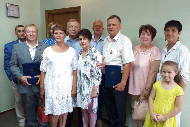 Козятинським лікарям вручили відзнаки від голови Верховної Ради України
