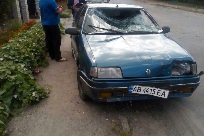 ДТП у Козятині:  водій «Рено» збив двох пішоходів