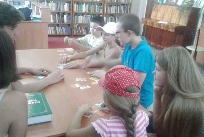 Як козятинчани подорожували віртуальним трамвайчиком у бібліотеці