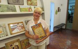 В музеї відбулася виставка робіт Ольги Масловської