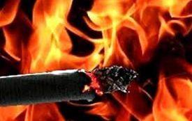 В Козятині жінка ледь не спалила цигаркою свій будинок