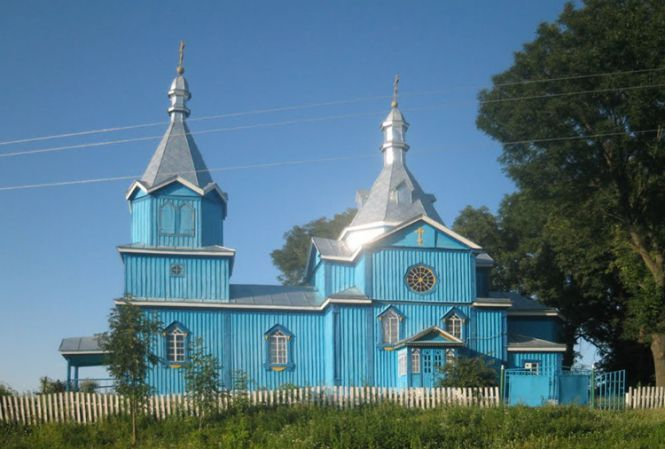Старовинні храми Козятинщини